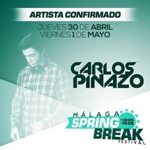 Nuestro dj residente estará en Málaga Spring Break! @infinitecr @soundtimesradio