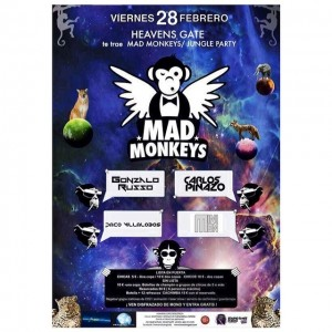 MAÑANA EN FUENGIROLA!! MAD MONKEYS